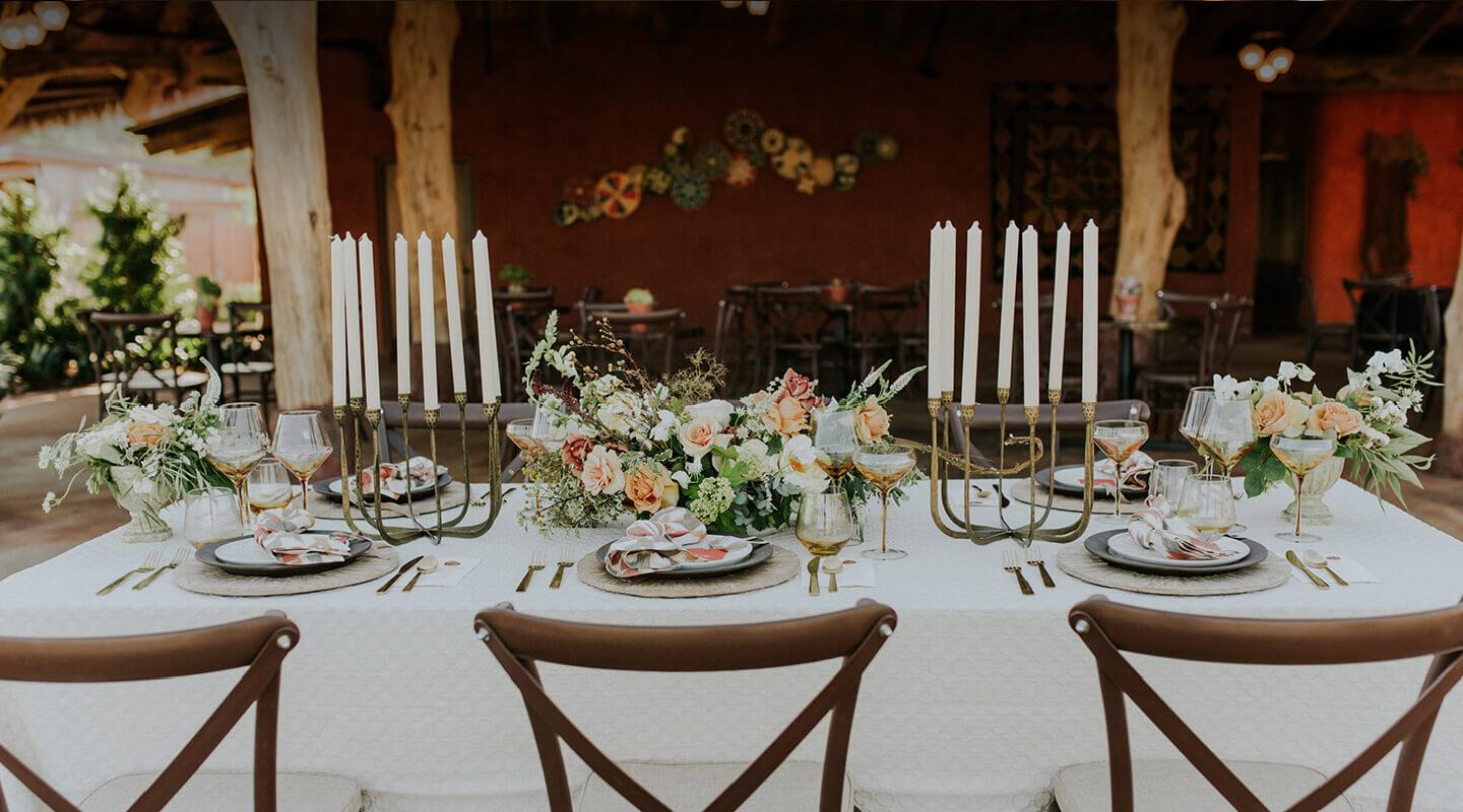 Formal set table