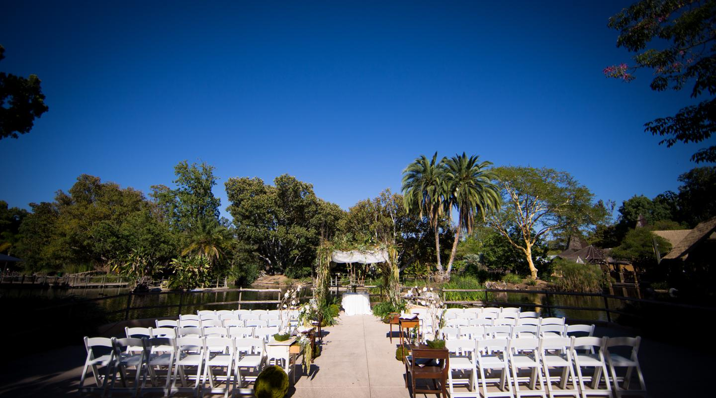 Lagoon Overlook Ceremony Setup